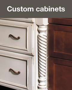 StarMark Cabinetry creates custom cabinets. Learn more.