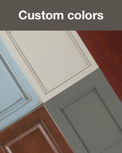 StarMark Cabinetry creates custom cabinet colors. Learn more.
