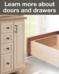 StarMark Cabinetry creates quality cabinet doors and drawers for cabinets. Learn more.