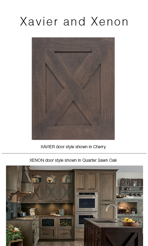 Introducing two new door styles: Xavier and Xenon