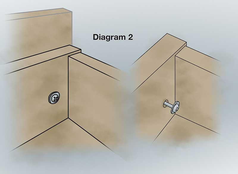 Adjusting StarMark Cabinetry drawers
