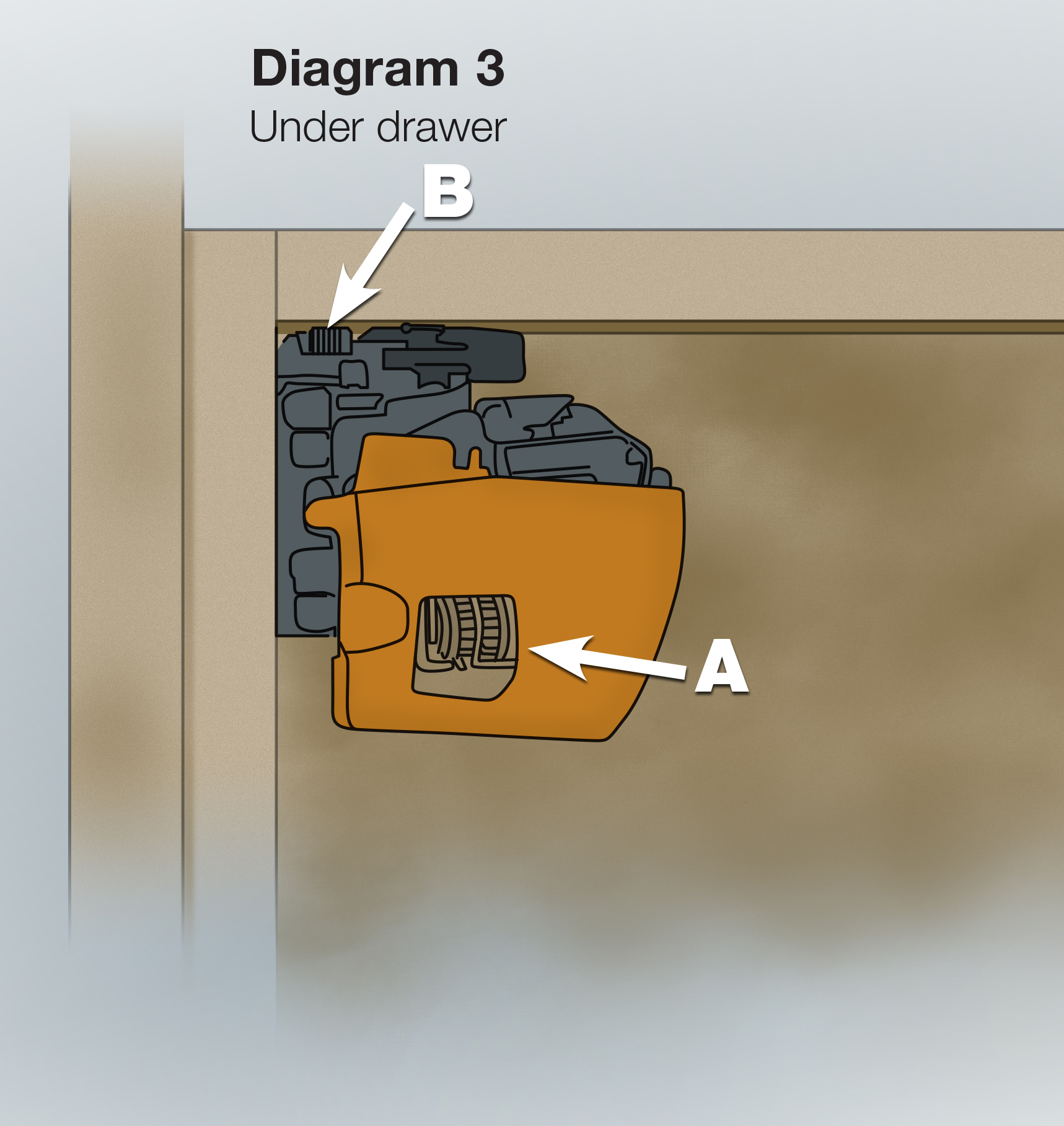 Adjusting StarMark Cabinetry hinges